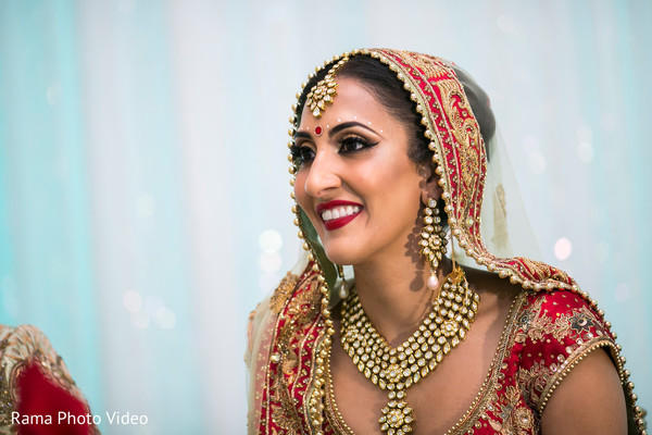 Stunning indian bride look