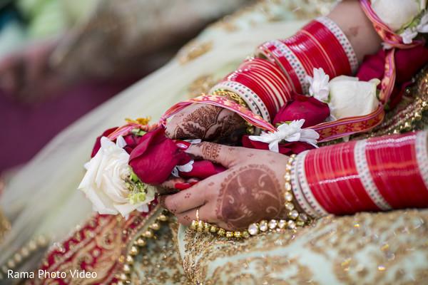 Indian bridal bangles