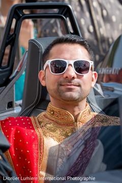 Stylish Raja arriving