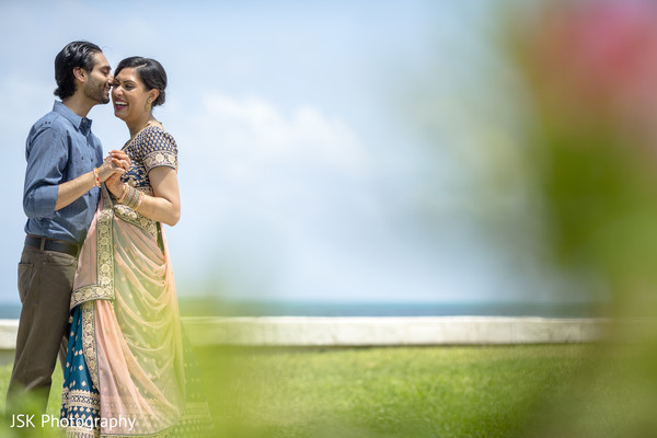 Beach themed Indian couple's photo session.