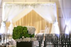 Flowers elephant Indian wedding ceremony decor.
