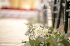 Enchanting Indian wedding ceremony flowers decor.