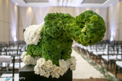Indian wedding ceremony flowers decorations.