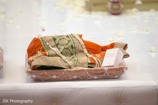 Maharani's wedding items.