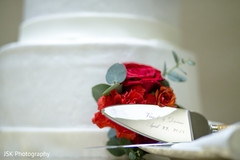 Personalized Indian wedding cake cutter.