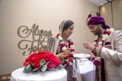 Marvelous Indian wedding cake topper capture.