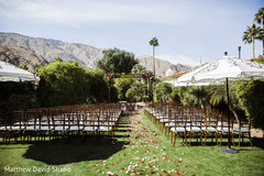 Overview of the Indian wedding venue