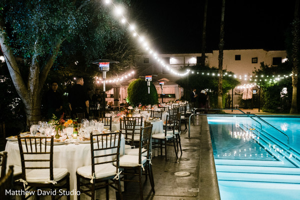 Overview of the Indian wedding tables