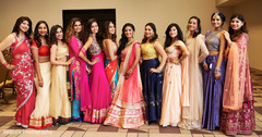 Maharani with lovely bridesmaids