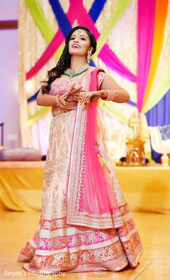 Maharani performing a choreography