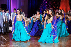 Indian bridesmaids and groomsmen choreography.