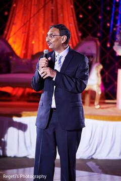 Indian wedding speech moment.