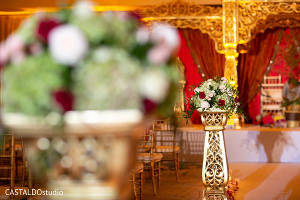 Incredible Indian wedding ceremony flowers decor.
