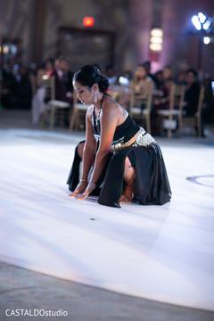 Incredible Indian wedding dancer.