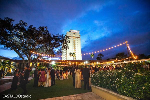 Incredible Indian wedding reception decor.
