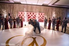 Marvelous Indian wedding couple's dance capture.