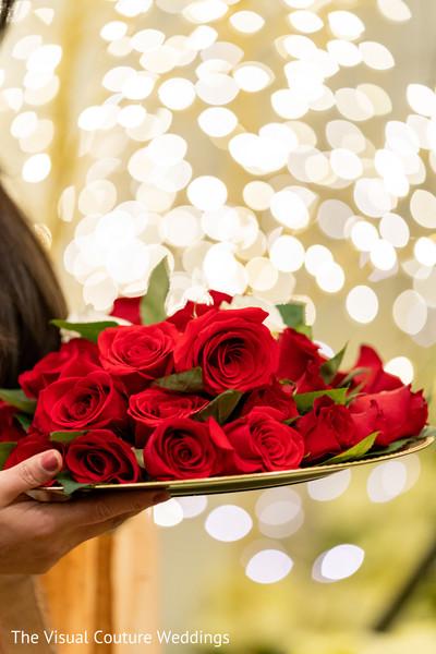 ceremony,venue,roses,indian wedding