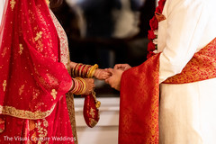 Close up capture of Indian couple