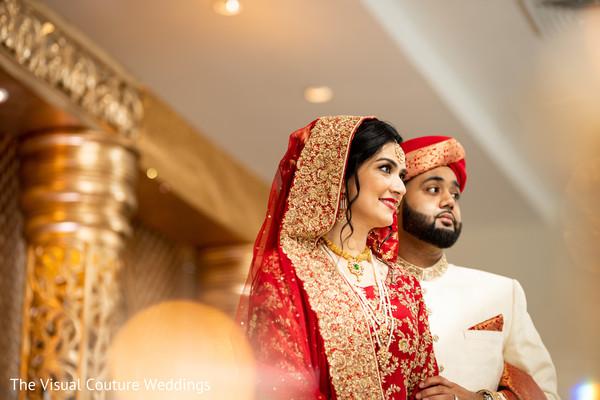 Maharani and Indian groom looking amazing
