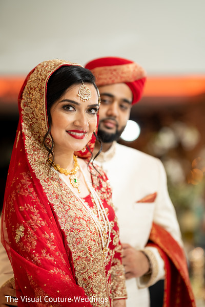 Maharani looking at the camera
