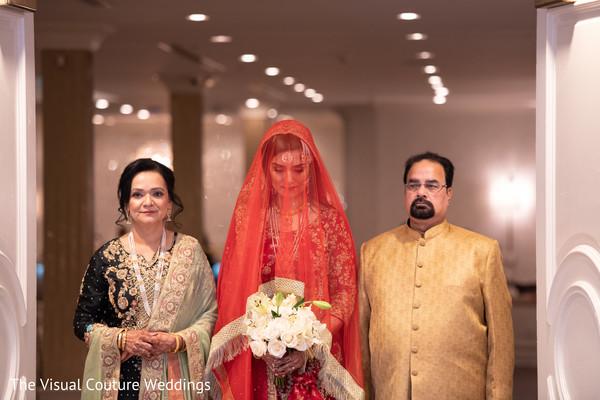 Maharani entering the venue