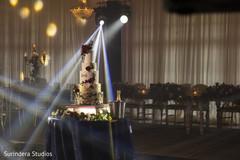 Wonderful indian wedding cake.