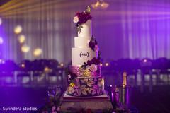 lovely Indian wedding cake photography.