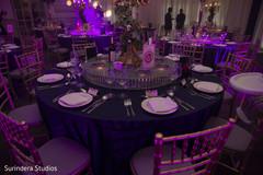 Astonishing indian wedding reception table decor.
