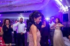 Maharani's reception dance capture.