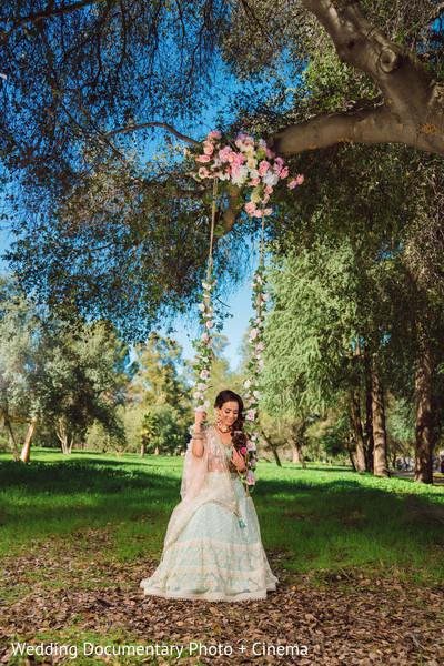 Lovely indian bride stylized shoot