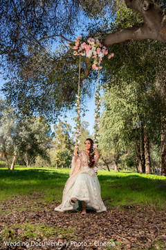Creative indian bride fashion photography