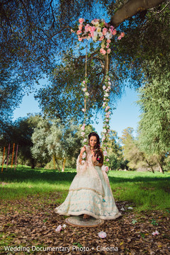 Dreamy indian wedding dress