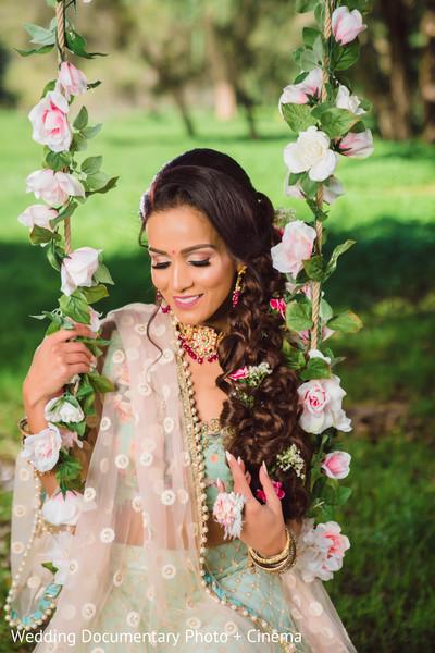 indian bridal ghoonghat design