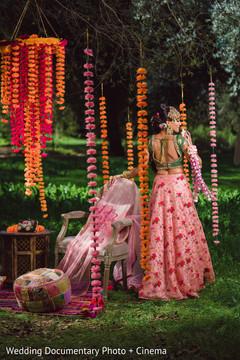 Ravishing indian bride's photo session
