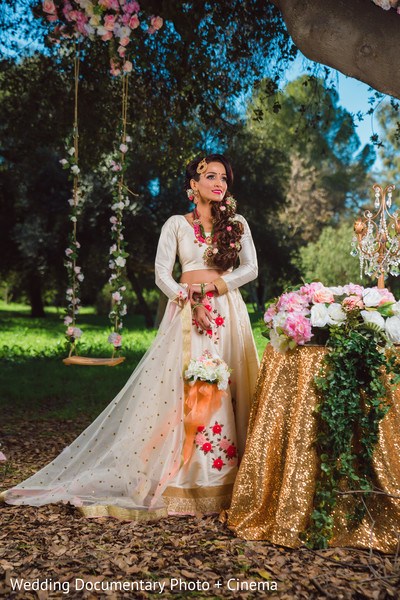 Take a look at this stunning indian bride