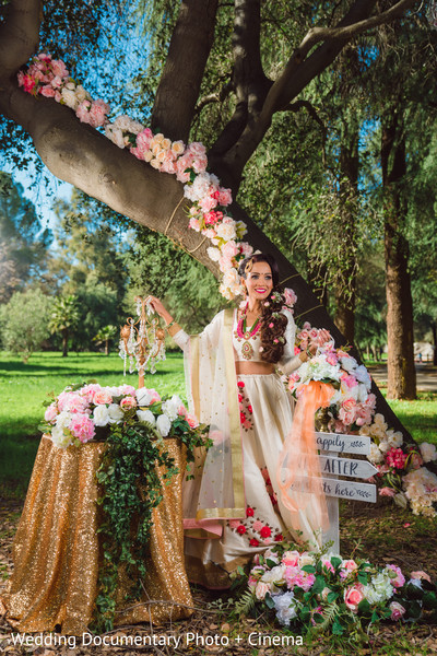 Cute indian bride photography