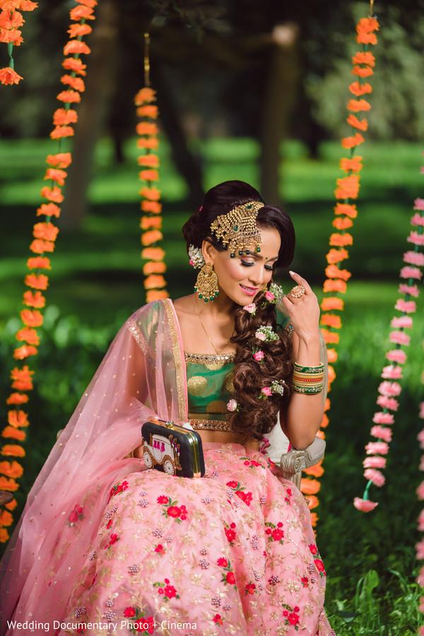 Sensational indian bride photo session