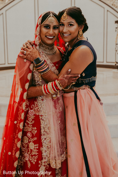 Indian bride and special guest