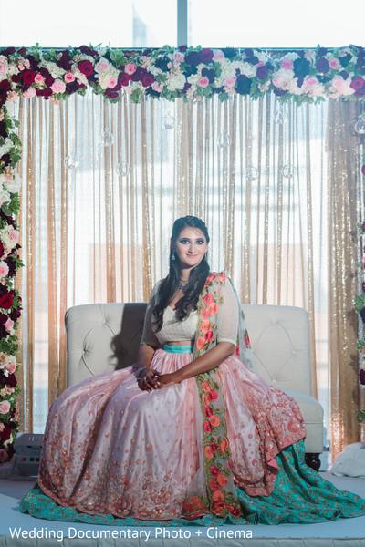 Portrait of dazzling Maharani