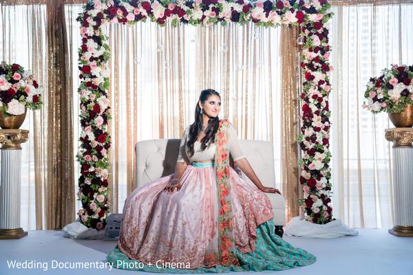 Enchanting Maharani posing for pictures