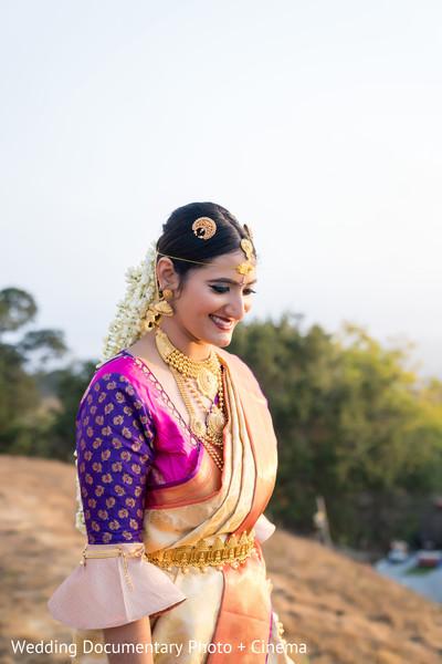 Indian bride looking incredible