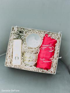 Maharani's wedding accessories box.