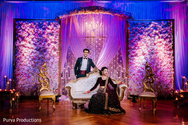 Adorable Indian couple's photo session.