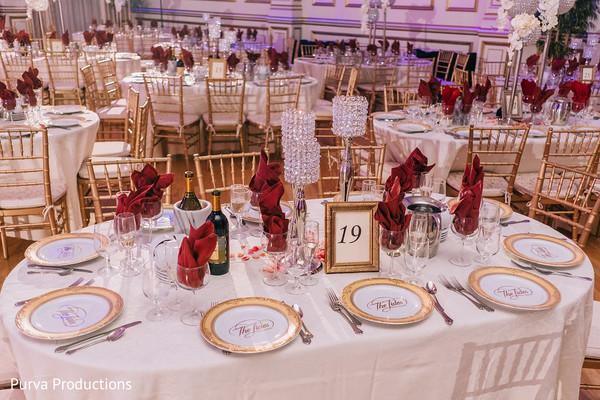 Wonderful Indian wedding table decoration.