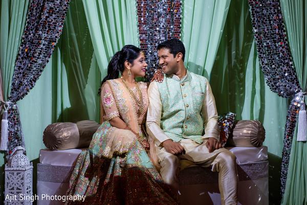 Romantic Indian couple capture.