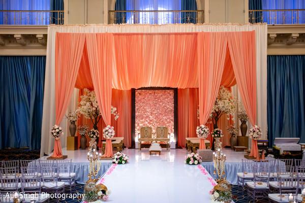 Marvelous Indian wedding ceremony decorations.