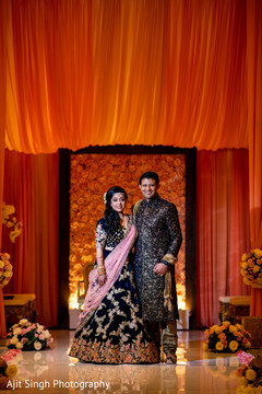 See this lovely Indian couple posing for photo shoot.