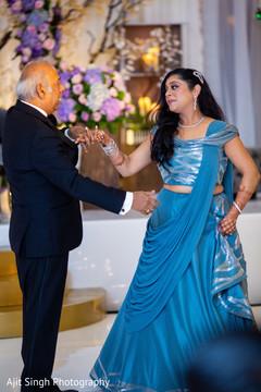 Maharani's dance with parent.
