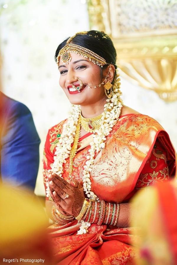 Delightful Indian bride