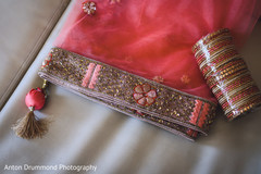 Close details of Maharani's wardrobe details